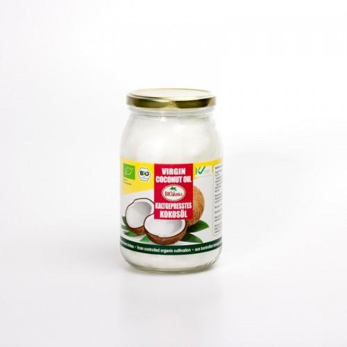 Bio Kokosöl, kaltgepresst (Rohkostqualität)  900ml