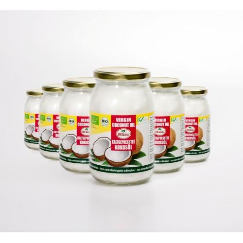 Bio Kokosöl, extra vergine, Angebot: 6x 900ml
