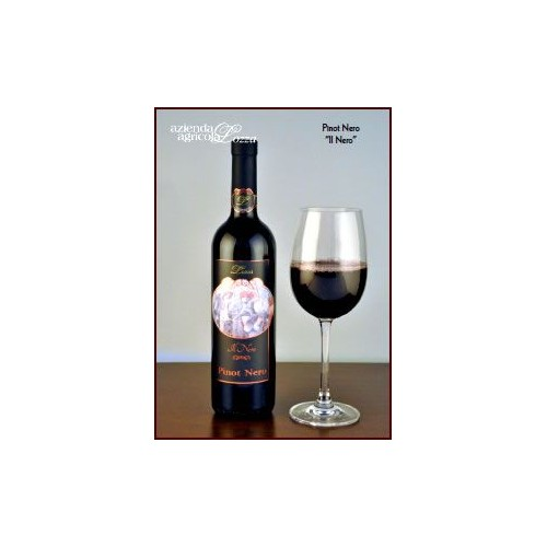 6x750ml Il Nero, Pinot nero, Bio-Rotwein aus der Lombardei