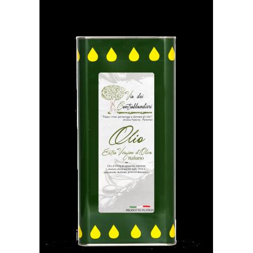 Bio-Olivenöl extra vergine aus Italien 5 Liter -Kanister, Ernte u. Pressung 2020