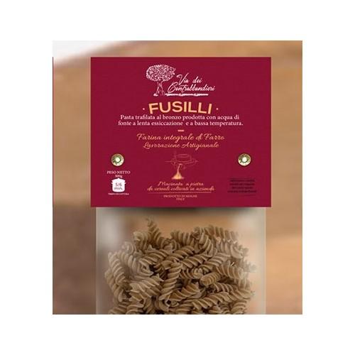Emmer-Urkorn-Nudeln, Fusilli, handgemacht in Italien, 500g