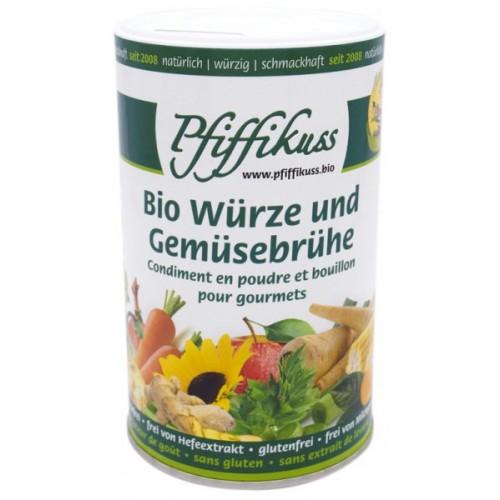 Bio-Würze u. Gemüsebrühe Pfiffikuss, 250g Dosen