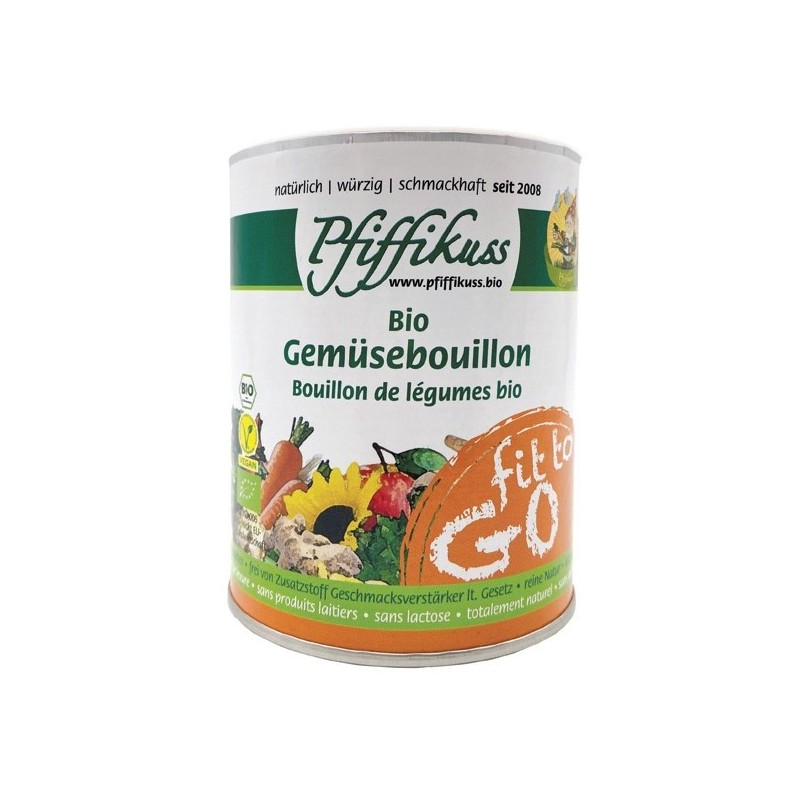 "Bio Gemüsebouillion ""fit to go"", 125g Dose"