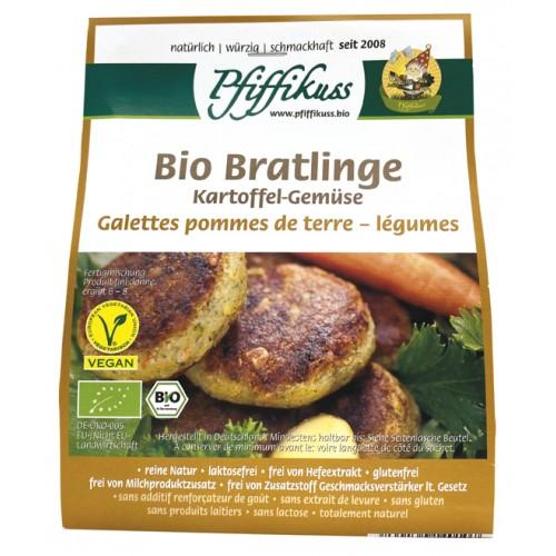 Bio Kartoffel-Gemüsebratlings- Mischung Pfiffikuss