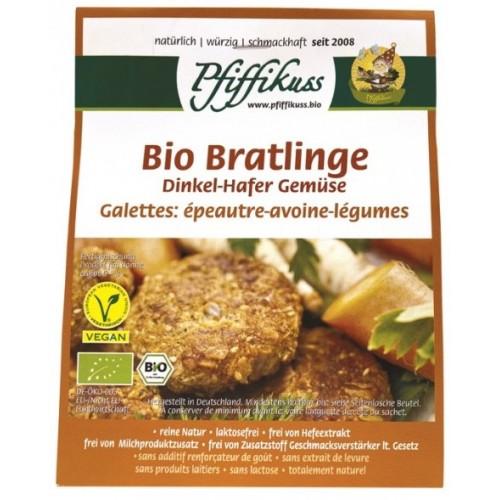 Bio Dinkel-Hafer-Gemüsebratlings-Mischung Pfiffikuss