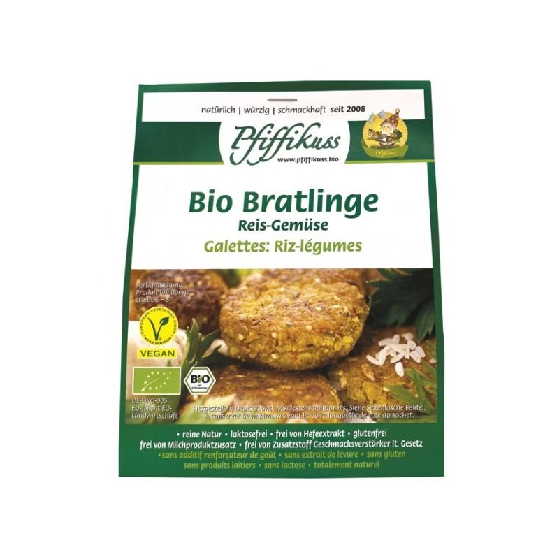 Bio Reis-Gemüsebratlings-Mischung Pfiffikuss