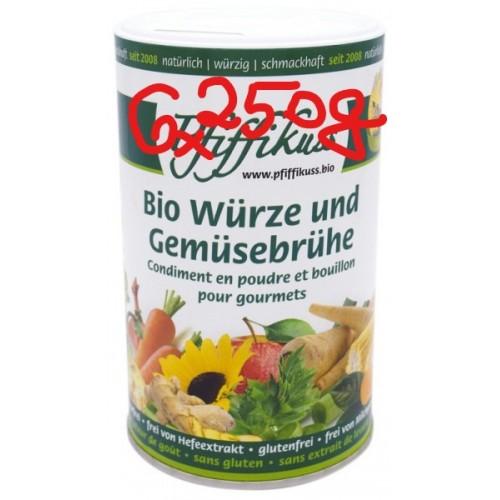 Bio-Würze u. Gemüsebrühe Pfiffikuss, 6x 250g