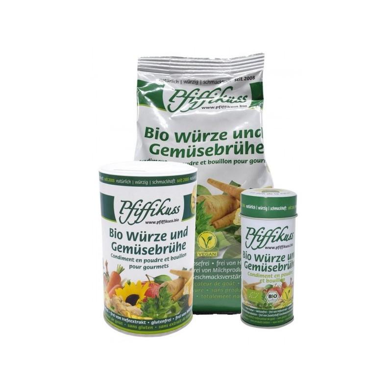 Bio-Würze u. Gemüsebrühe Pfiffikuss, Kombipack