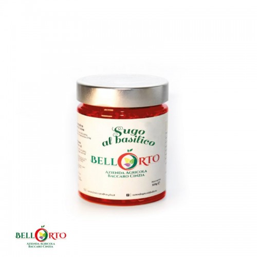 Tomatensoße mit Basilikum, 270g - 100% Tomaten aus dem Molise/Italien