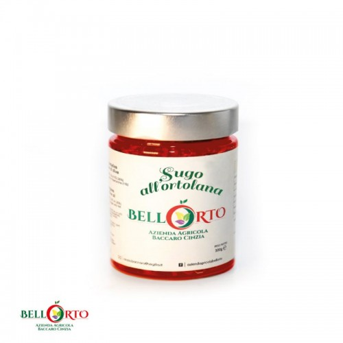 Tomatensoße mit Gemüse 270g - 100% Tomaten aus dem Molise/Italien