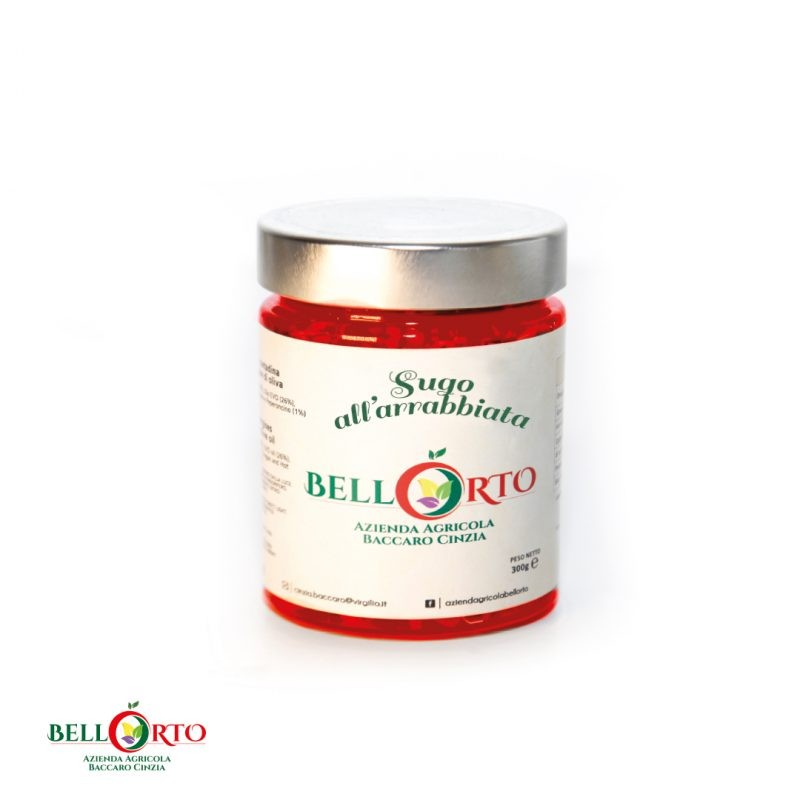 Tomatensoße Arrabbiata 270g - 100% Tomaten aus dem Molise/Italien