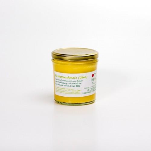Bio Butterschmalz (Ghee) aus Heumilch, 280g